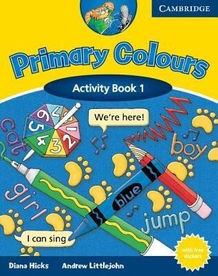 Primary Colours Activity Book 1 [With Stickers] als Taschenbuch