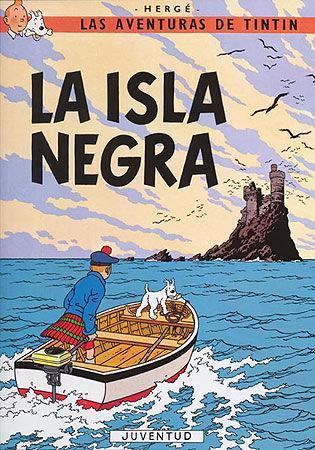 Tintín: La isla negra als Taschenbuch