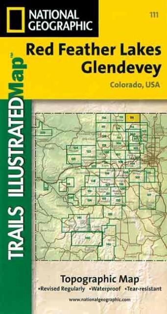 Trails Illustrated - Colorado-Red Feather Lks/Glendevey als Spielwaren