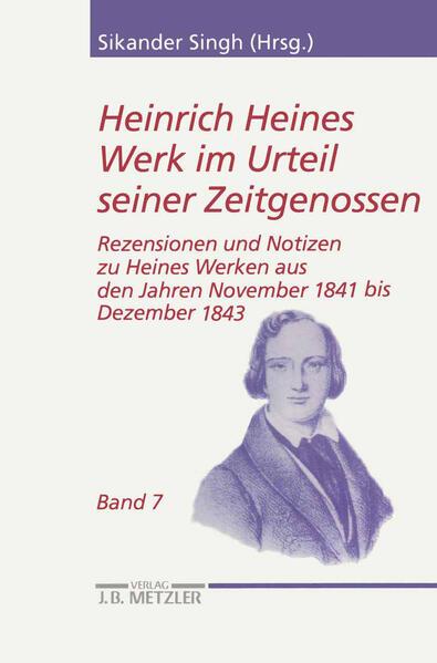 Heinrich Heines Werk im Urteil seiner Zeitgenossen 07 als Buch