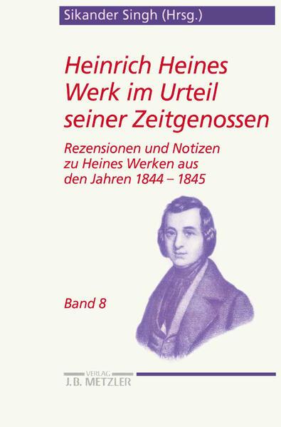 Heinrich Heines Werk im Urteil seiner Zeitgenossen 08 als Buch