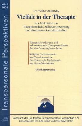 Vielfalt in der Therapie als Buch