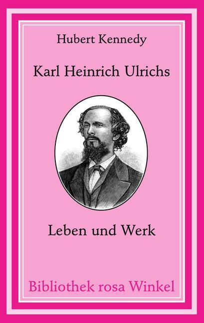 Karl Heinrich Ulrichs als Buch