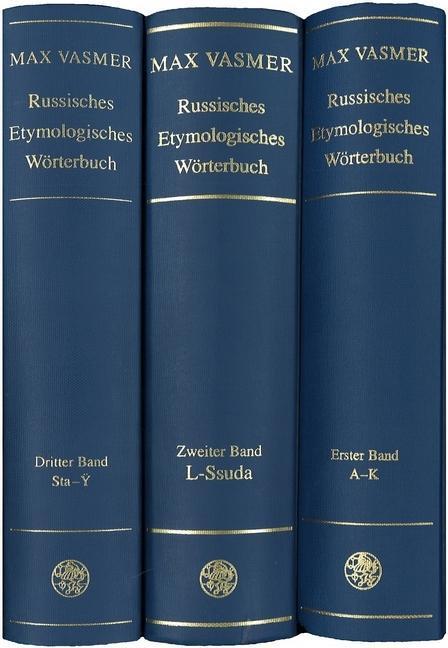 Russisches Etymologisches Wörterbuch als Buch