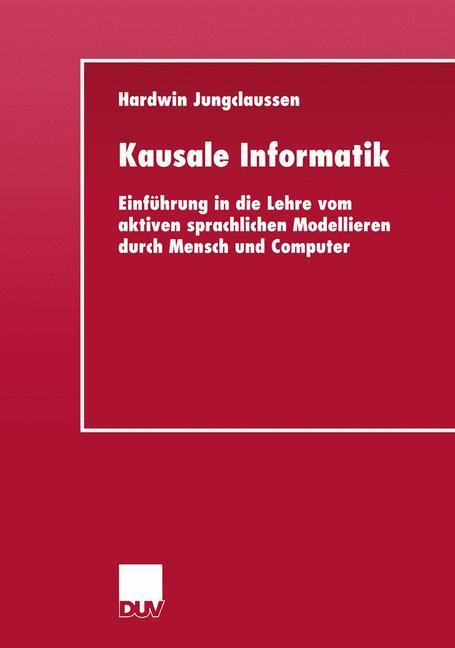 Kausale Informatik als Buch