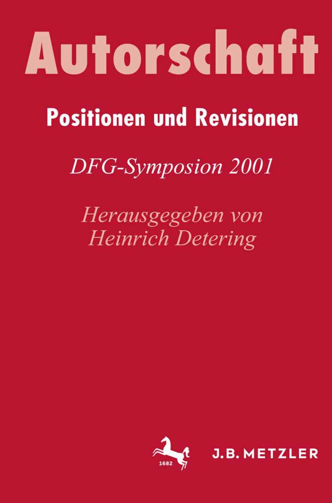 AutorschaftPositionen und Revisionen als Buch