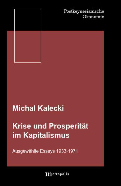 Krise und Prosperität im Kapitalismus als Buch