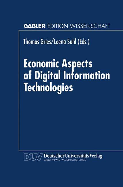 Economic Aspects of Digital Information Technologies als Buch
