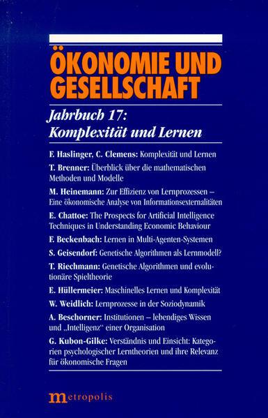 Jahrbuch Ökonomie und Gesellschaft 17. Komplexität und Lernen als Buch