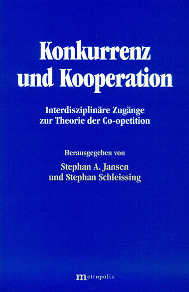 Konkurrenz und Kooperation als Buch