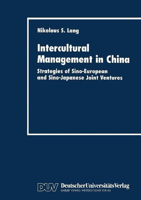 Intercultural Management in China als Buch