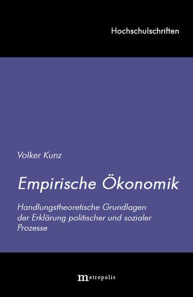 Ökonomische Handlungslehre als Buch