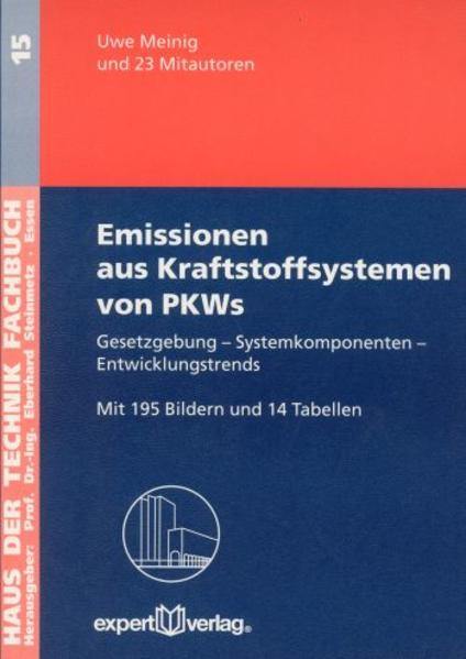 Emissionen aus Kraftstoffsystemen von PKWs als Buch