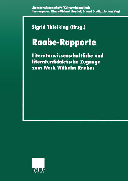 Raabe-Rapporte als Buch