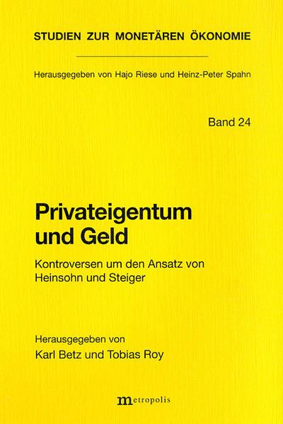 Privateigentum und Geld als Buch