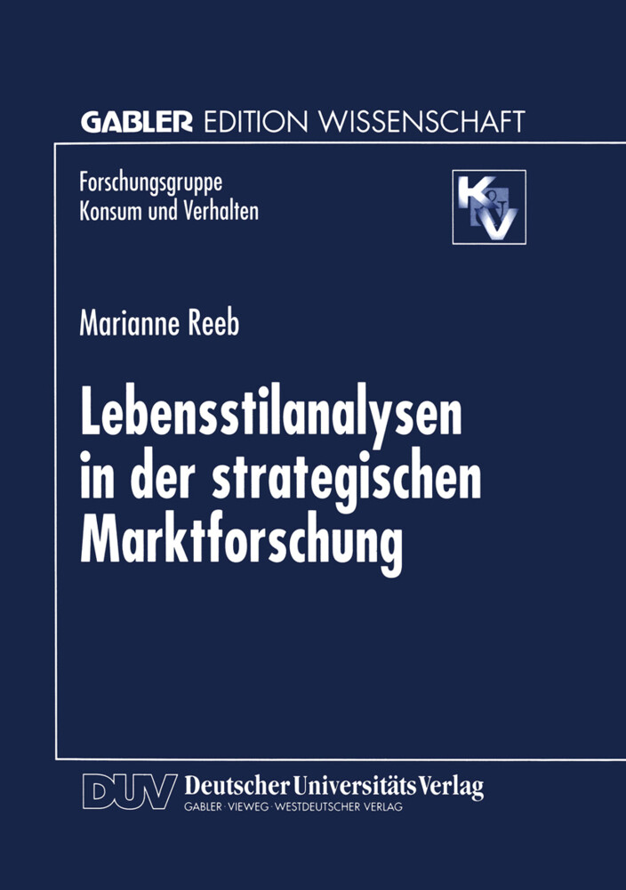 Lebensstilanalysen in der strategischen Marktforschung als Buch
