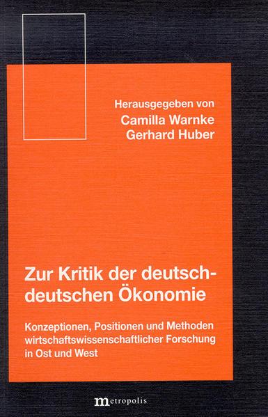 Zur Kritik der deutsch-deutschen Ökonomie als Buch