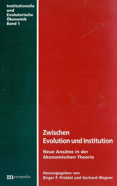 Zwischen Evolution und Institution als Buch