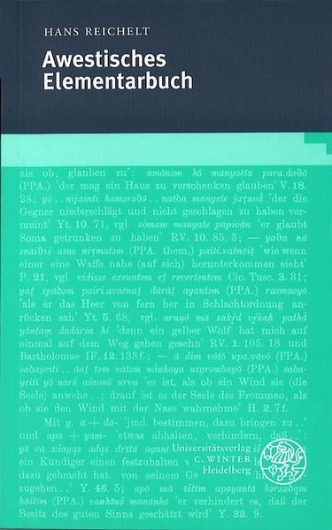 Awestisches Elementarbuch als Buch