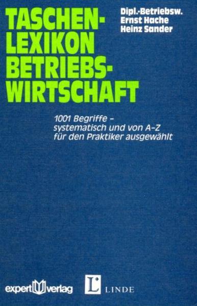 Taschenlexikon Betriebswirtschaft als Buch