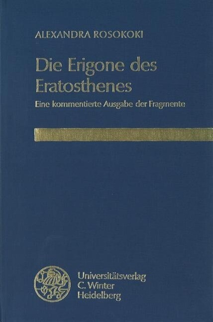 Die Erigone des Eratosthenes als Buch