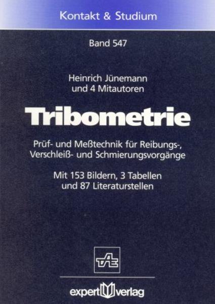 Tribometrie als Buch