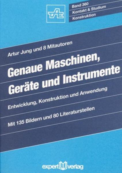 Genaue Maschinen, Geräte und Instrumente als Buch