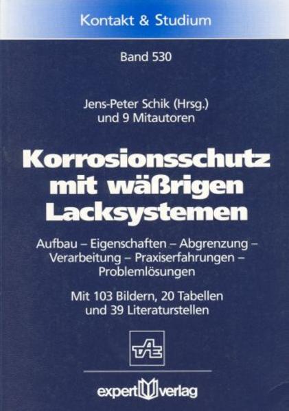 Korrosionsschutz mit wäßrigen Lacksystemen als Buch