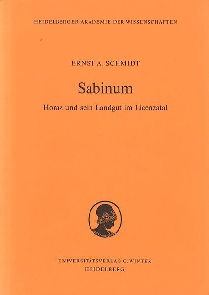 Sabinum als Buch