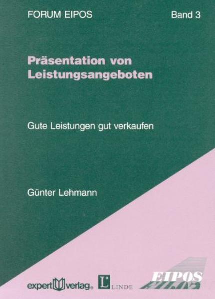 Präsentation von Leistungsangeboten als Buch