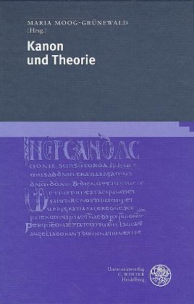 Kanon und Theorie als Buch