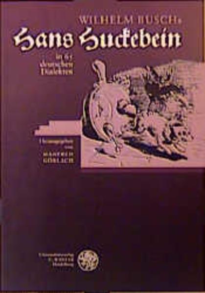 Hans Huckebein in 65 deutschen Dialekten als Buch