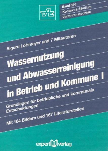 Wassernutzung und Abwasserreinigung in Betrieb und Kommune 1 als Buch