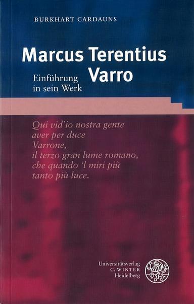 Marcus Terentius Varro als Buch