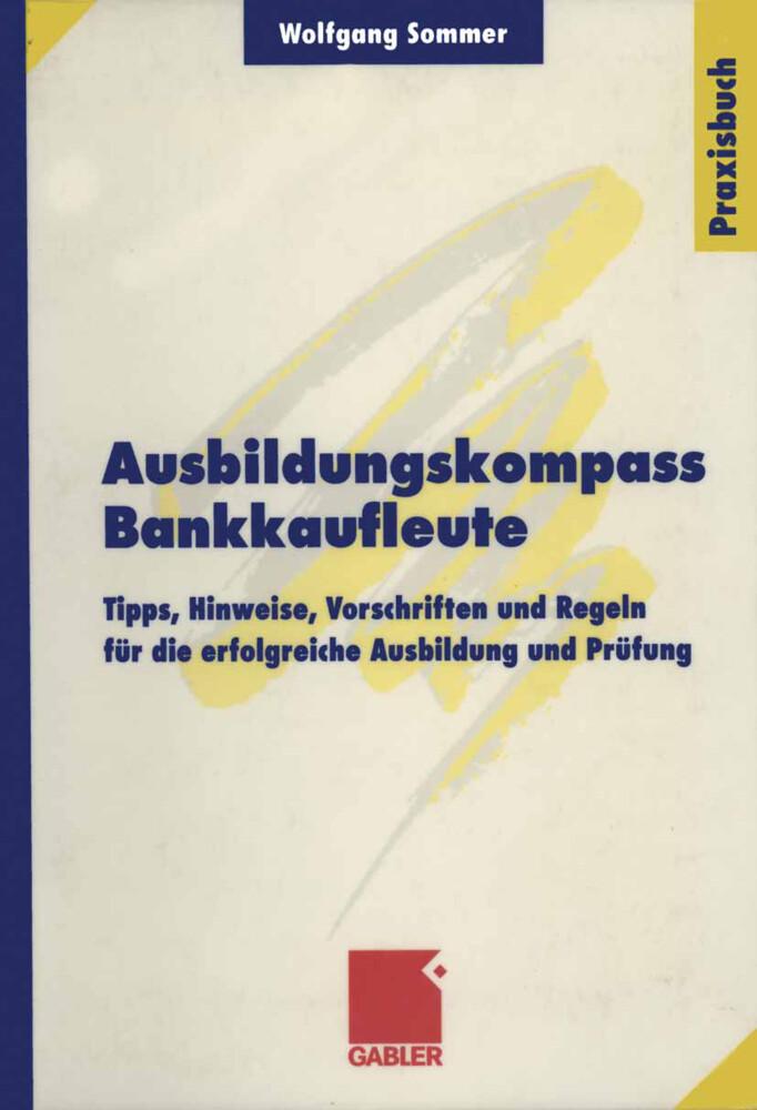 Ausbildungskompass Bankkaufleute als Buch
