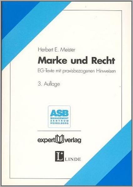 Marke und Recht als Buch