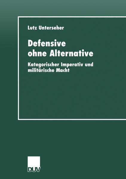 Defensive ohne Alternative als Buch