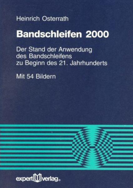 Bandschleifen 2000 als Buch