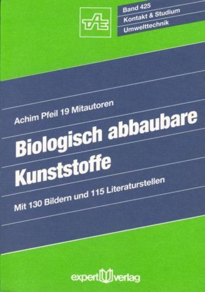 Biologisch abbaubare Kunststoffe als Buch