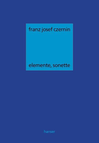 Elemente, Sonette als Buch