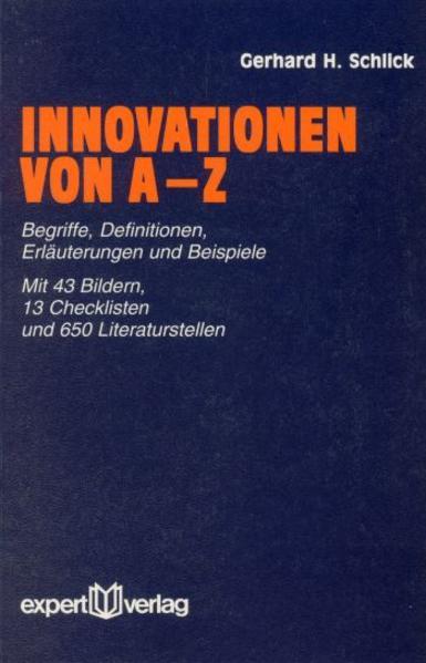Innovationen von A bis Z als Buch