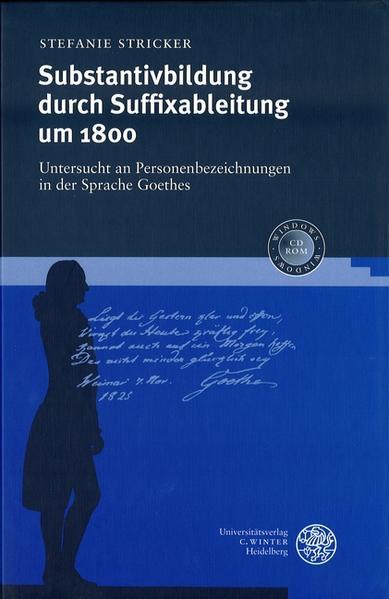 Substantivbildung durch Suffixableitung um 1800 als Buch