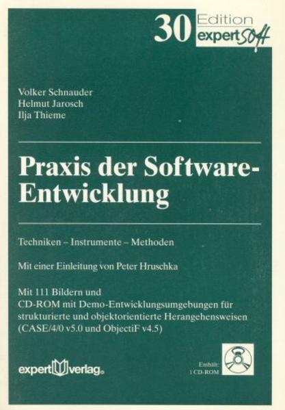 Praxis der Softwareentwicklung als Buch