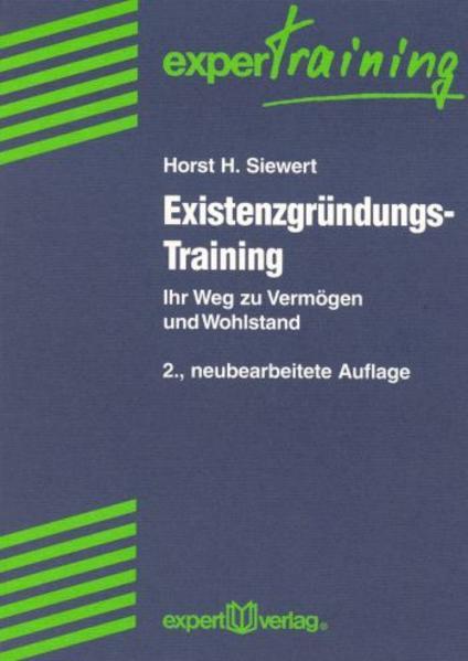 Existenzgründungs-Training als Buch
