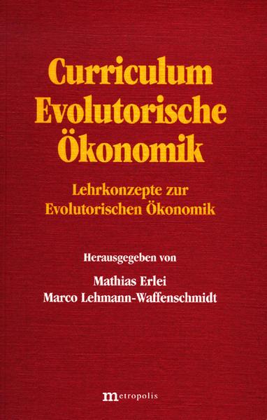 Curriculum Evolutorische Ökonomik als Buch