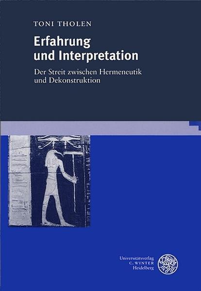 Erfahrung und Interpretation als Buch