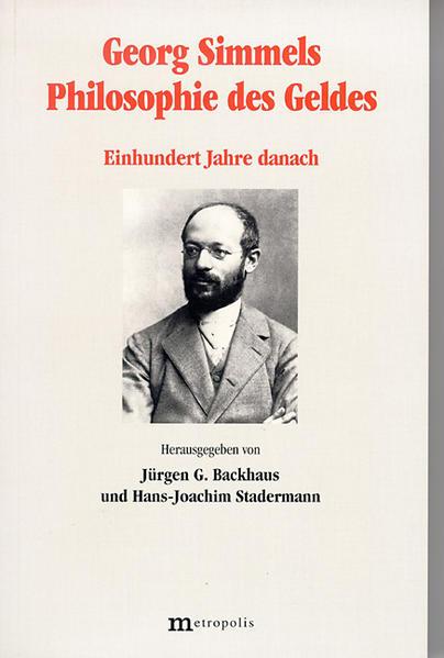 Georg Simmels Philosophie des Geldes als Buch