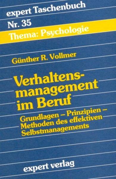 Verhaltensmanagement im Beruf als Buch