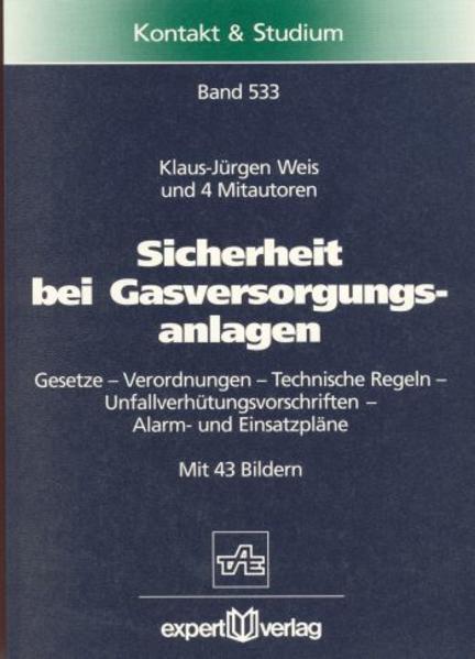 Sicherheit bei Gasversorgungsanlagen als Buch