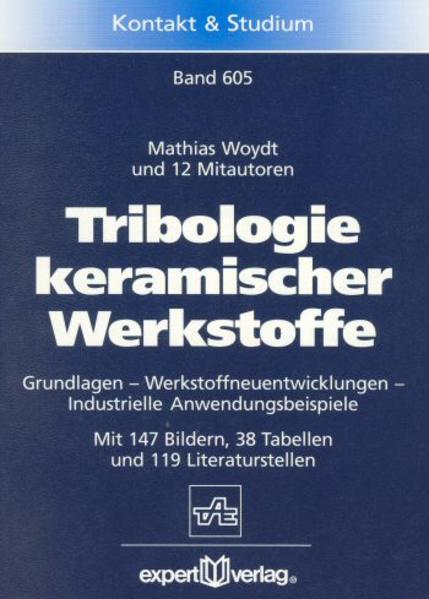 Tribologie keramischer Werkstoffe als Buch